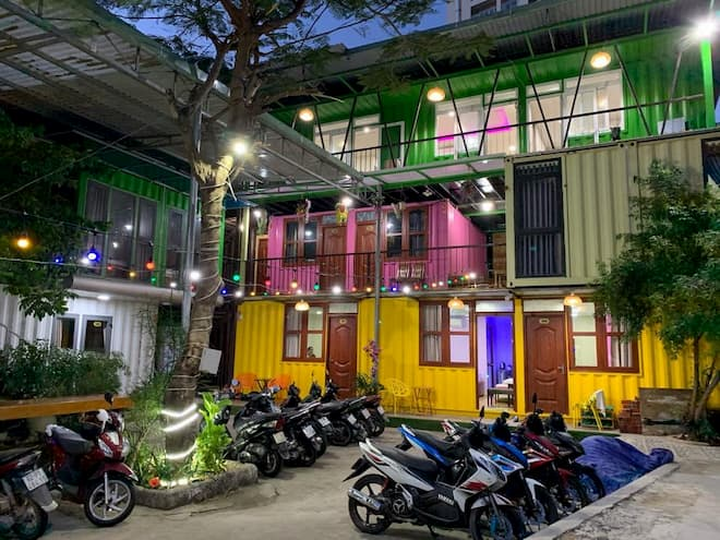 homestay container vung tau