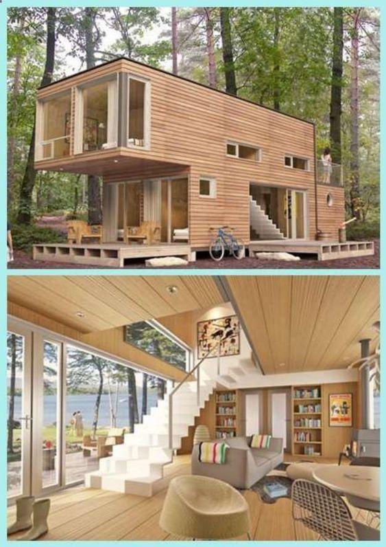 nhà container sơn giả gỗ