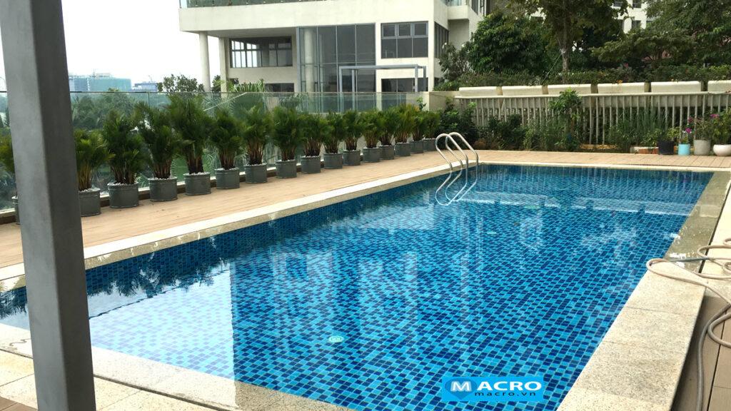 Hồ bơi riêng của Pool Villa Diamond Island